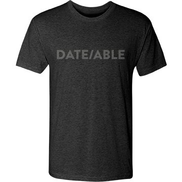 Date/able T-shirt