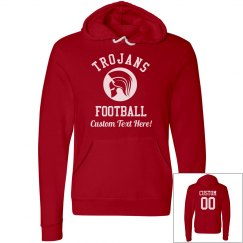Custom Trojans Football Hoodies