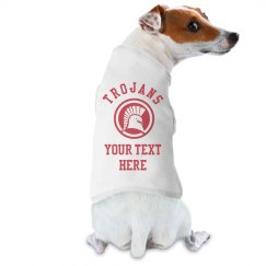 Custom Trojans Puppy Dog Fan