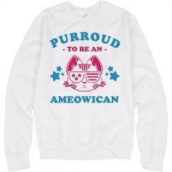 I'm Purroud To Be An Ameowican