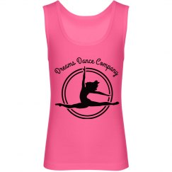Dreams Dance Company Hot Pink Tank