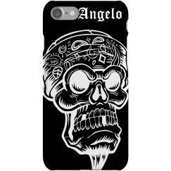 Angelo's Skull iPhone