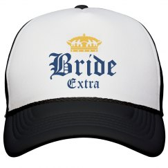 Quarantine Bride Bachelorette Hat