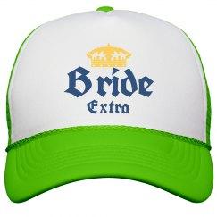 Quarantine Bride Bachelorette Hat