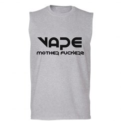 Vape Mother Fuckerz Mens Muscle Tank Top