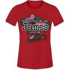 Love me like James