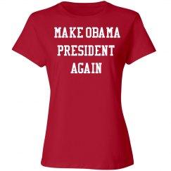 Make Obama president again
