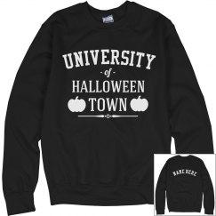 Custom Halloween Town University