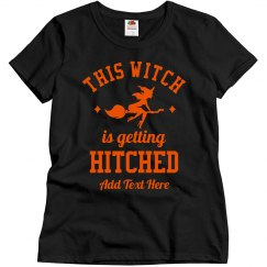 Custom Bachelorette Hitched Witch