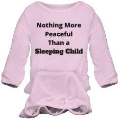 Peaceful sleeping child