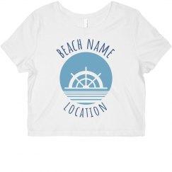 Summer Custom Vacation Crop
