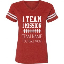 One Team Football Mom