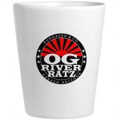 OG River Ratz Shot Glass