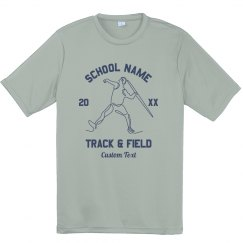 Youth Track Performance Tee