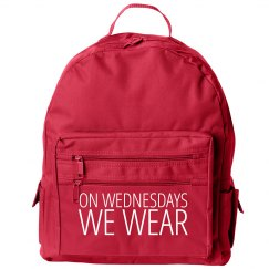 On Wednesdays We Wear Pink Kids Backpacks