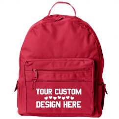 Custom Backpack Pink