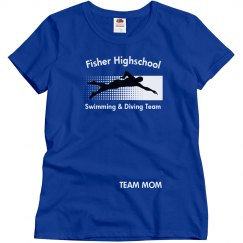 Fisher Swim Team Mom