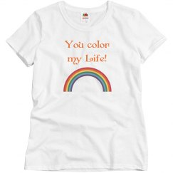 You color my life!