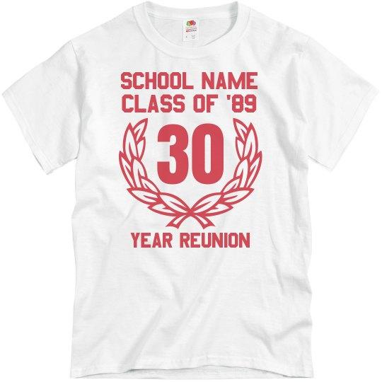 0b4d567fa1254 30 Year Class Reunion