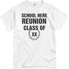 Custom Class Reunion Tees