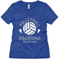 Cute Custom Volleyball Grandma