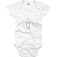 BAKED GOODS STUDIOS INFANT ONESIE
