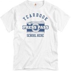 Yearbook Press Pass