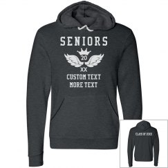 Custom Seniors Pull Over Hoodie