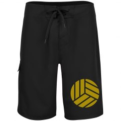 Broad shorts with Soccer Ball