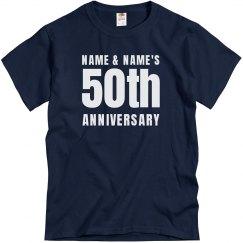 Simple Custom 50th Anniversary