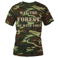 Men's May the Forest be with yoy