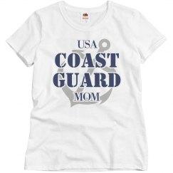 Cute US Coast Guard Mom