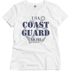 Cute US Coast Guard Mom