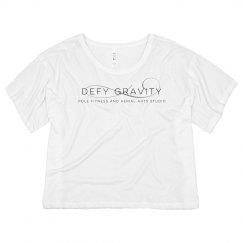 Defy Gravity Crop Tee