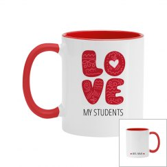 Custom Love My Class Teacher Mug