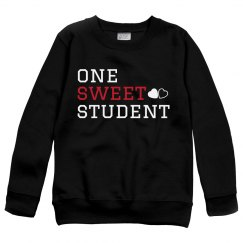 One Sweet Student Sweater