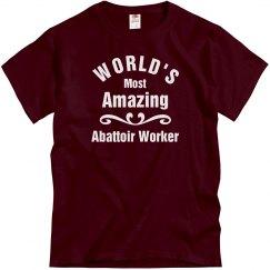Amazing Abattoir Worker