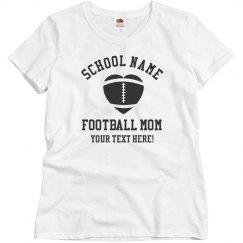 Football Mom Custom Tee