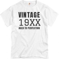 Vintage Birthday Shirt