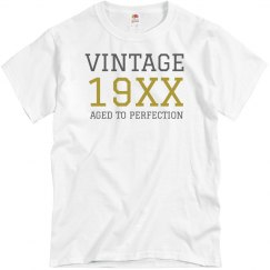 Vintage Birthday Shirt