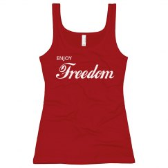 Enjoy Freedom Cola