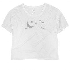Silver Moon & Stars