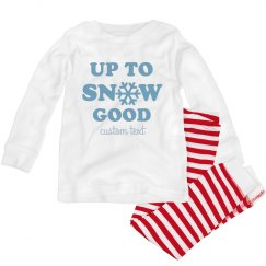 Up to Snow Good Toddler Pajamas