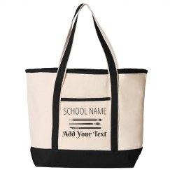 Custom Teacher Bag