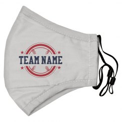 Team Name Baseball Frame Mask