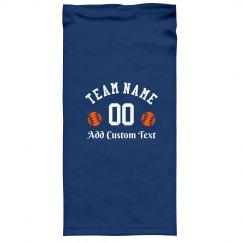 Add Your Team Name Baseball Gaiter