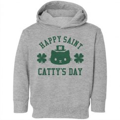 St Catty's Day Toddler Hoodies