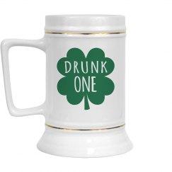 Drunk 1 Beer Mug
