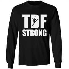 TDF Strong Unisex Long Sleeve (girl jumping)