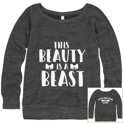 Custom Beauty Beast Cheer Squad